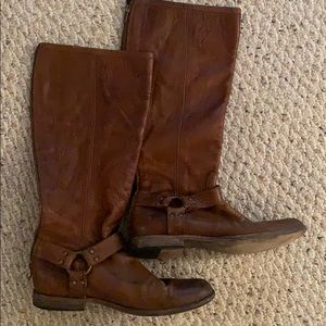 Frye brown riding boots